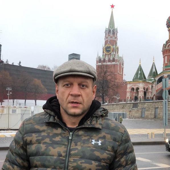 Емельяненко проиграл Рамзану Кадырову в споре. Фото Скриншот Instagram: @alexemelyanenko