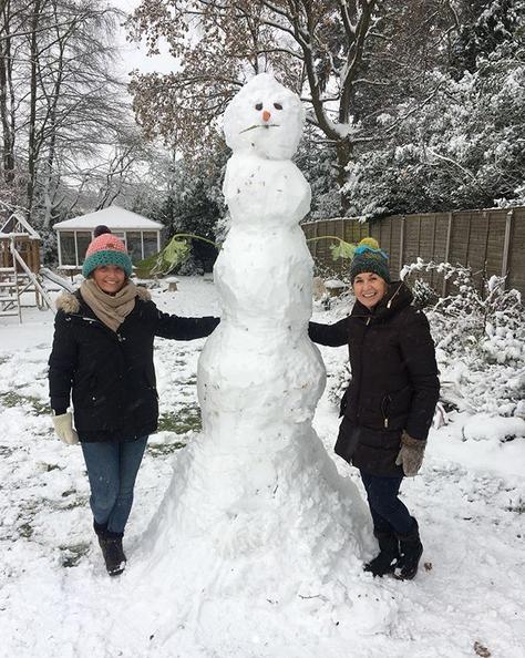 Самые странные и забавные снеговики в Instagram: Фото. Фото Скриншот Instagram: @misselacy