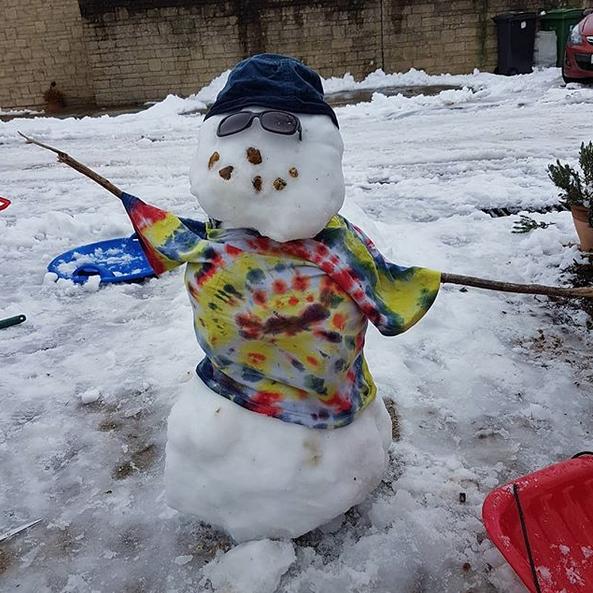 Самые странные и забавные снеговики в Instagram: Фото. Фото Скриншот Instagram: @notyoursmiler
