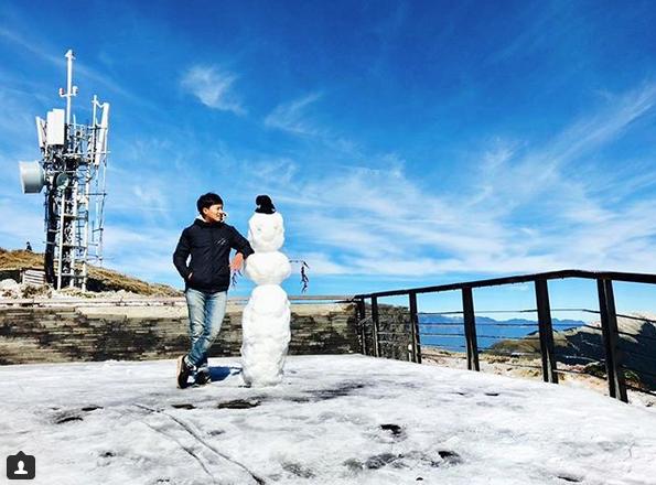 Самые странные и забавные снеговики в Instagram: Фото. Фото Скриншот Instagram: @bartpinyao