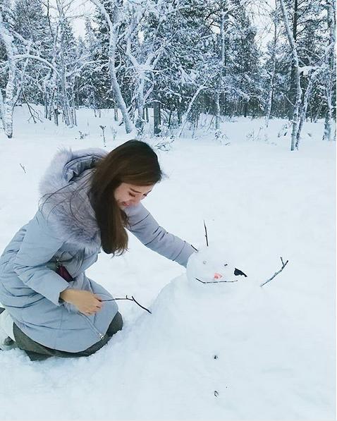 Самые странные и забавные снеговики в Instagram: Фото. Фото Скриншот Instagram: @chelicioustop
