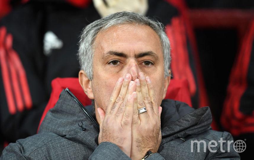 """Жозе Моуриньо, тренер """"Манчестер Юнайтед"""". Фото Getty"""