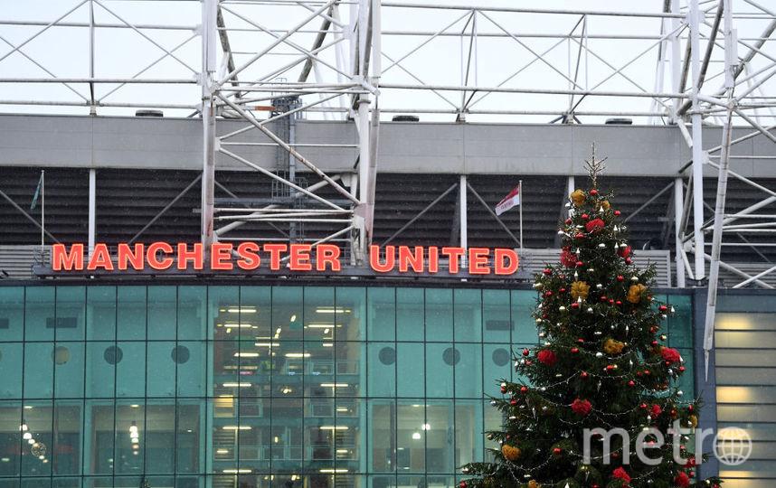 "Стадион ""Манчестер Юнайтед"". Фото Getty"
