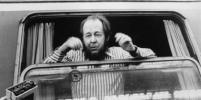 В Москве расклеили плакаты, оскорбляющие Солженицына