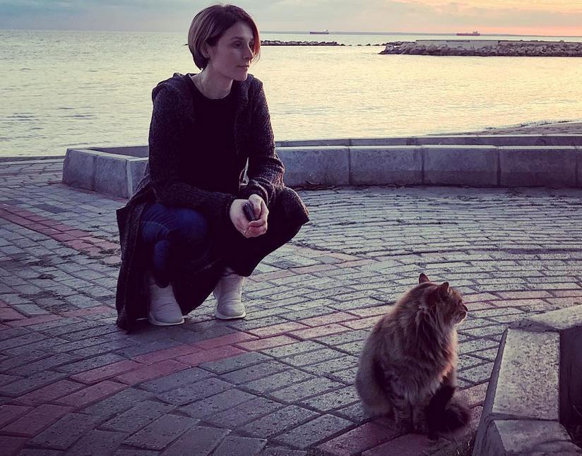 Оксана Охлобыстина - фотоархив. Фото https://www.instagram.com/psykero1477/