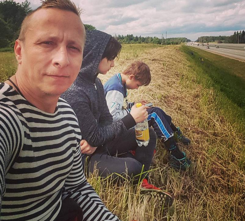 Иван Охлобыстин с детьми - фотоархив. Фото https://www.instagram.com/psykero1477/