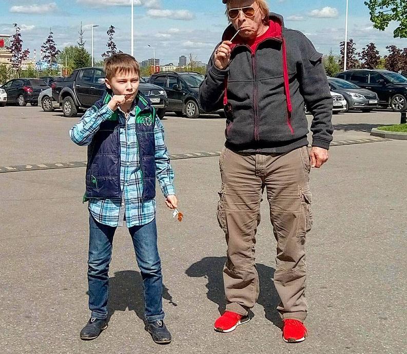 Иван Охлобыстин с сыном - фотоархив. Фото https://www.instagram.com/psykero1477/