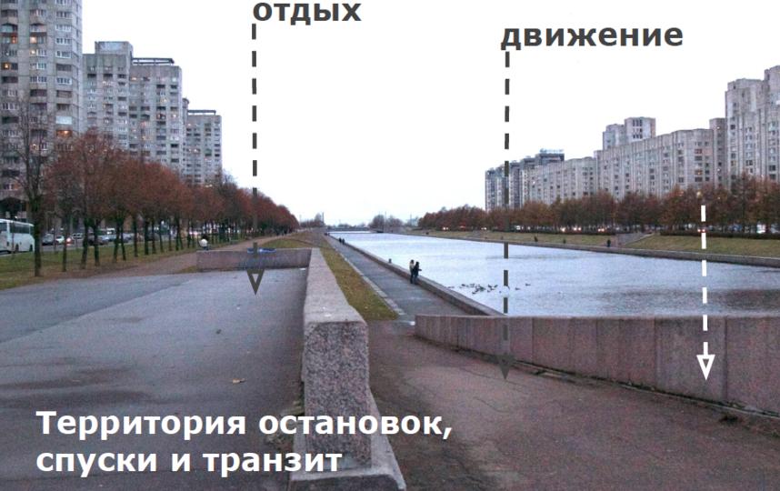 """Так выглядит Смоленская набережная сейчас. Фото предоставила пресс-служба """"Ленсвет"""""""
