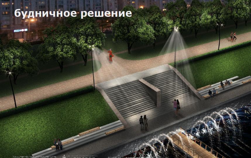 """Так будет выглядеть Смоленская набережная. Фото предоставила пресс-служба """"Ленсвет"""""""