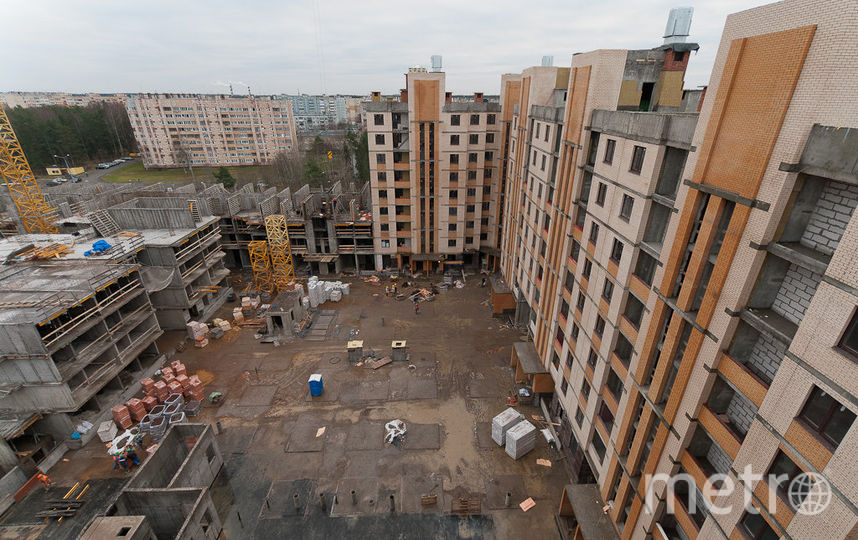 """ЖК """"Ломоносовъ"""" строят быстро и качественно – как и все объекты """"Петростроя""""."""