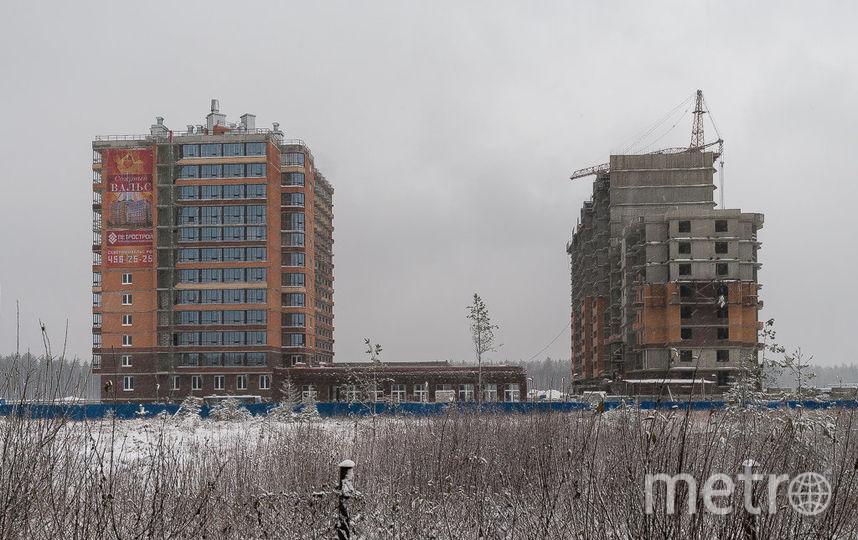 Строительство ЖК Северный вальс  идет полным ходом.