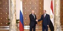 Путин: Мы готовы к открытию авиасообщения между Москвой и Каиром