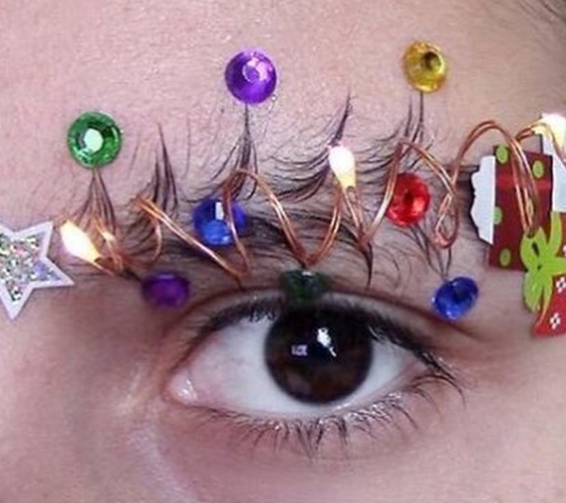 Новый тренд - брови елочкой. Фото Скриншот https://www.instagram.com/melimsurdy/