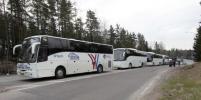 Дорогу через погранпункт на Финляндию закрыли до весны
