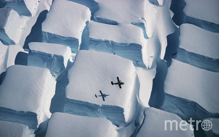 Сахарные ледники. Фото фотоконкурс Лондонского королевского общества
