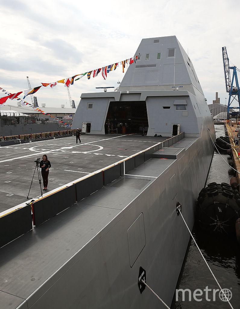 Американский суперэсминец USS Zumwalt. Фото Getty
