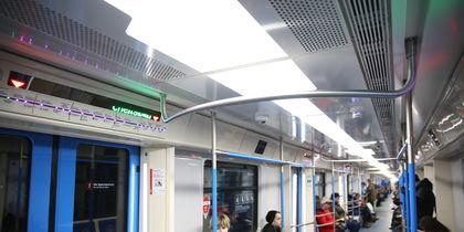 В новых поездах
