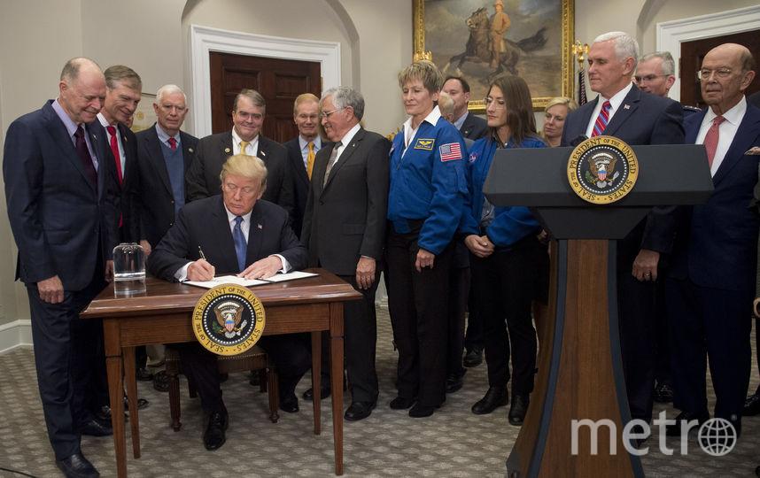 Церемония подписания указа в Белом доме. Фото AFP