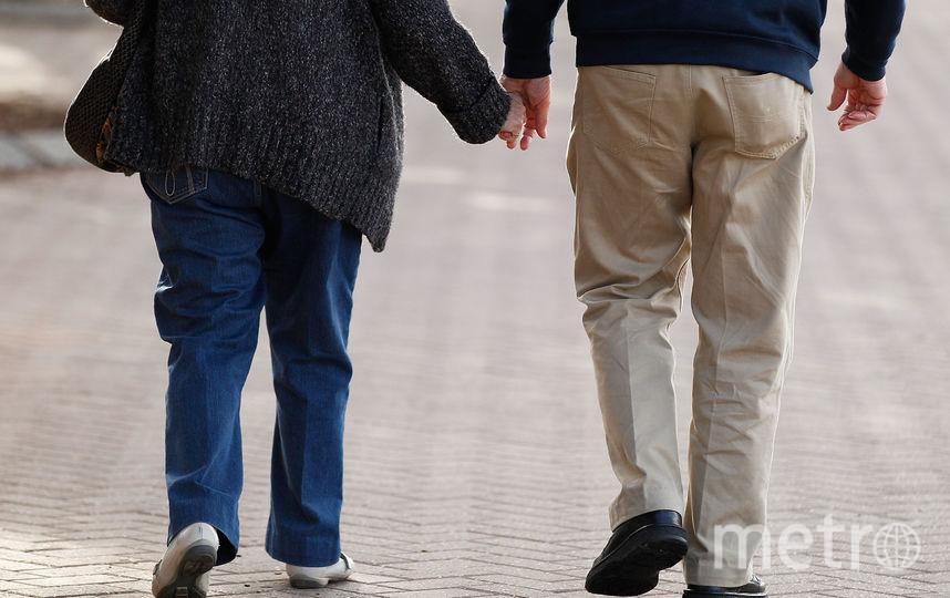 Престарелая пара. Фото Getty
