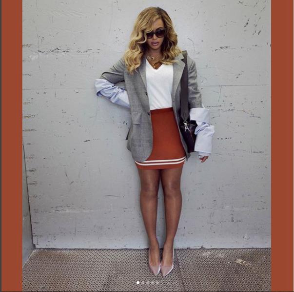 Скриншот instagram.com/beyonce/?hl=ru.