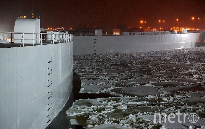 Комплекс защитных сооружений от наводнения. Фото dambaspb.ru