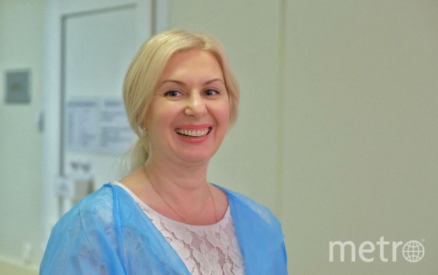 Елена Гончар в роддоме. Фото все - Алена Бобрович.