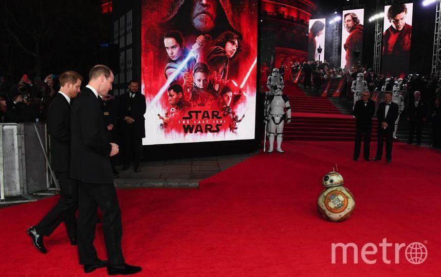 """Премьера 8 эпизода """"Звездных войн"""" в Лондоне. Фото Getty"""