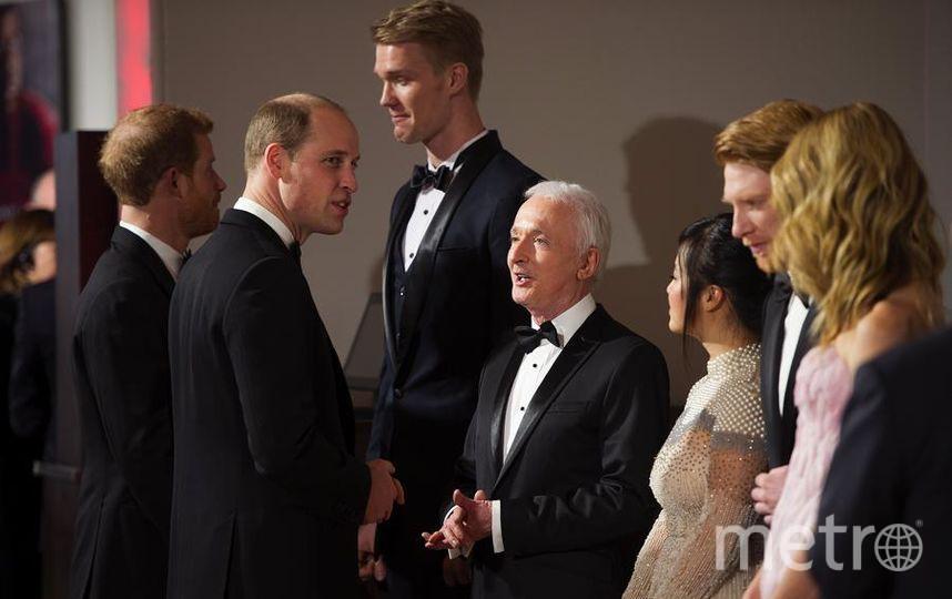"""Премьера 8 эпизода """"Звездных войн"""" в Лондоне. Принц Уильям. Фото Getty"""