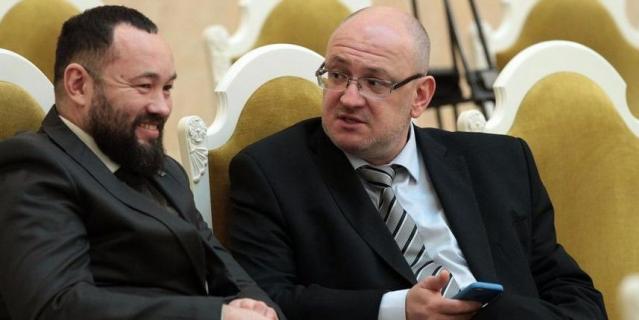Андрей Анохин и Максим Резник.