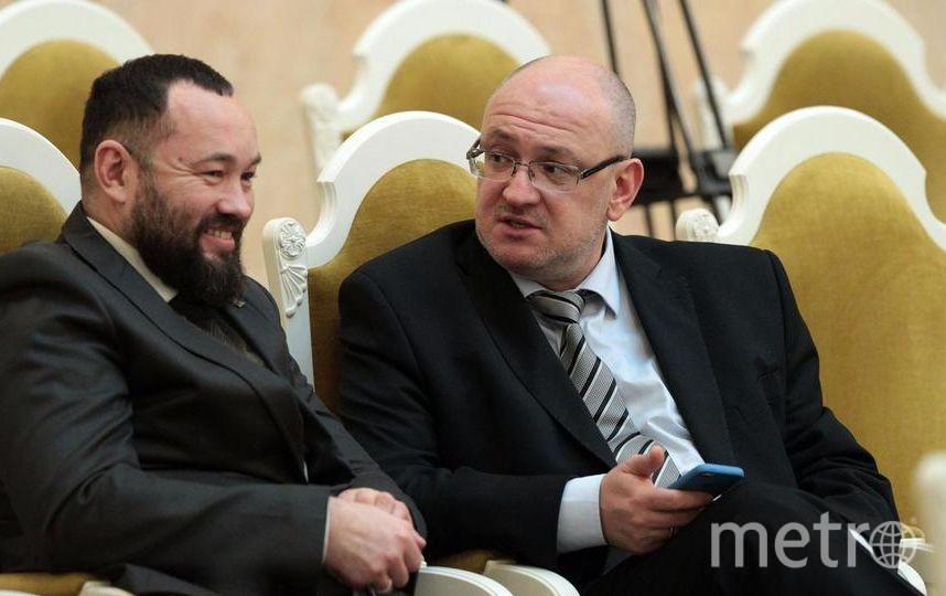 Андрей Анохин и Максим Резник. Фото assembly.spb.ru