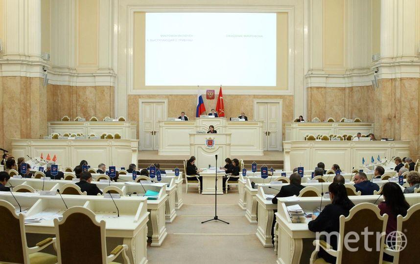 Архив: заседание депутатов ЗакСа. Фото assembly.spb.ru