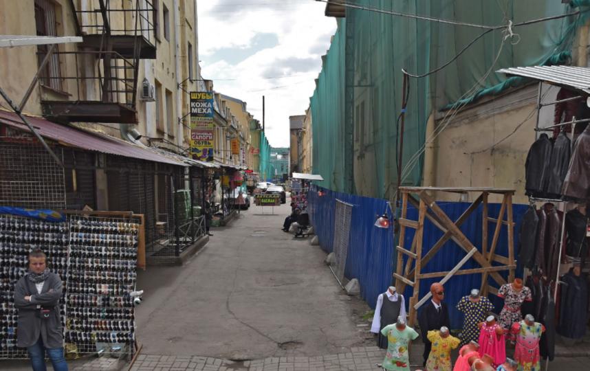 Апраксин двор. Фото скриншот Яндекс.Панорамы