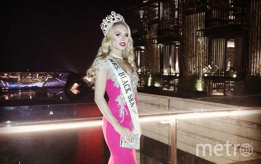 Конкурс красоты Mrs. Globe 2017 проходил в Китае. Елена Пестрикова.