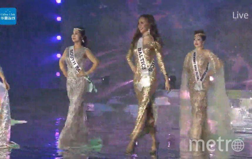 Конкурс красоты Mrs. Globe 2017 проходил в Китае. Алена Вдовина.