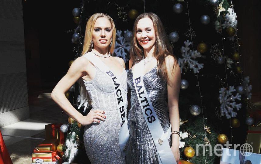 Конкурс красоты Mrs. Globe 2017 проходил в Китае. Елена Пестрикова и Алена Вдовина.