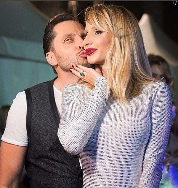 Александр Ревва и Светлана Лобода. Фото Скриншот Instagram: arthurpirozhkov