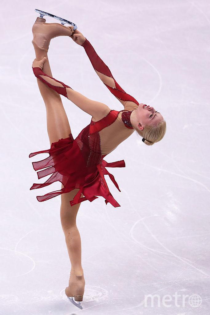 Российская фигуристка Анна Погорилая. Фото Getty