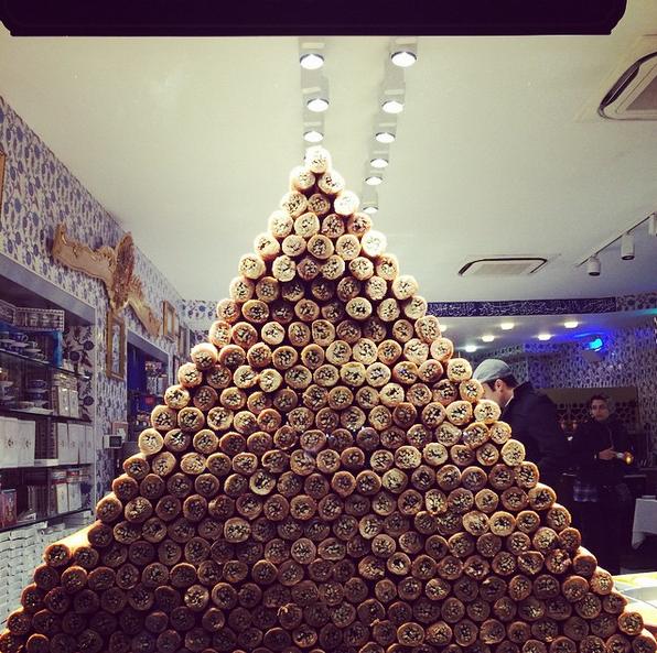 Самые необычные съедобные ёлки в Instagram: Фото. Фото Скриншот Instagram: @mrs_katherina