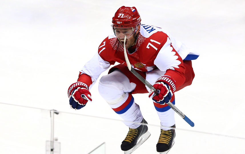 Нападающий петербургского СКА Илья Ковальчук. Фото Getty