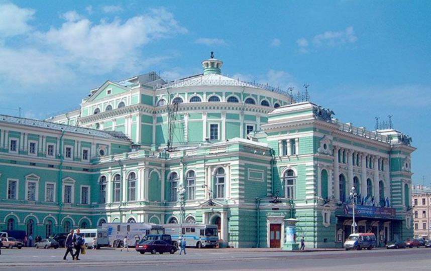 Здание Мариинского театра. Фото www.mariinsky.ru
