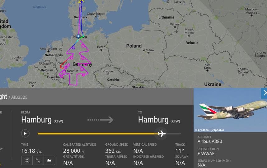 Лайнер кружил более 6 часов. Фото https://www.flightradar24.com/data/aircraft/f-wwae#fd1fd63