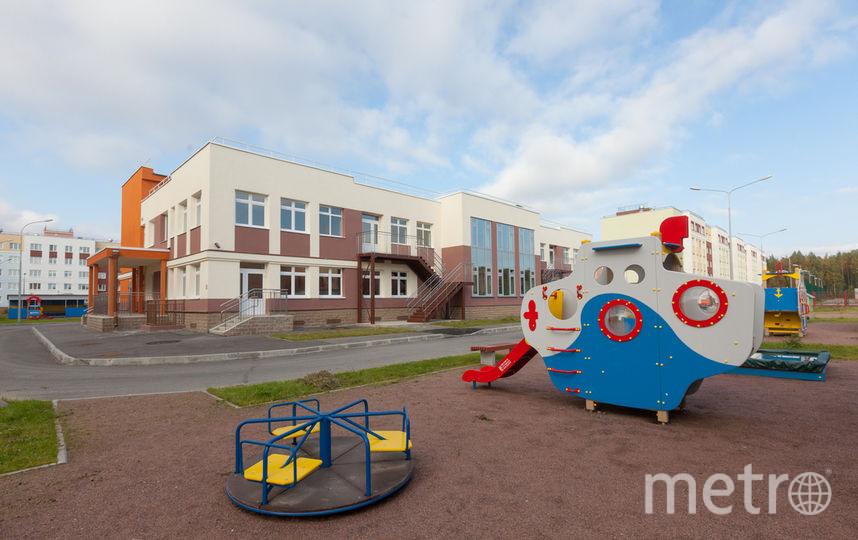 """Открытие первого детского сада в ЖК """"Юнтолово"""" – важное событие."""