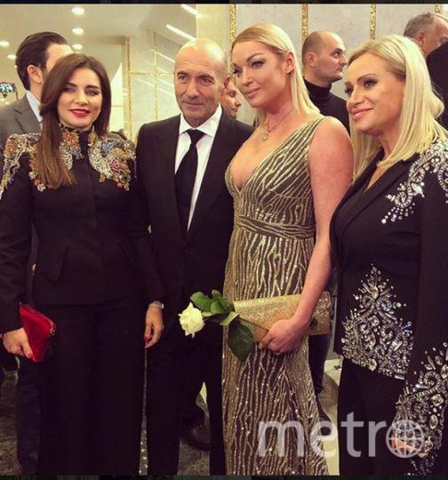 Волочкова на музыкальной премии в Кремле. Фото https://www.instagram.com/volochkova_art/