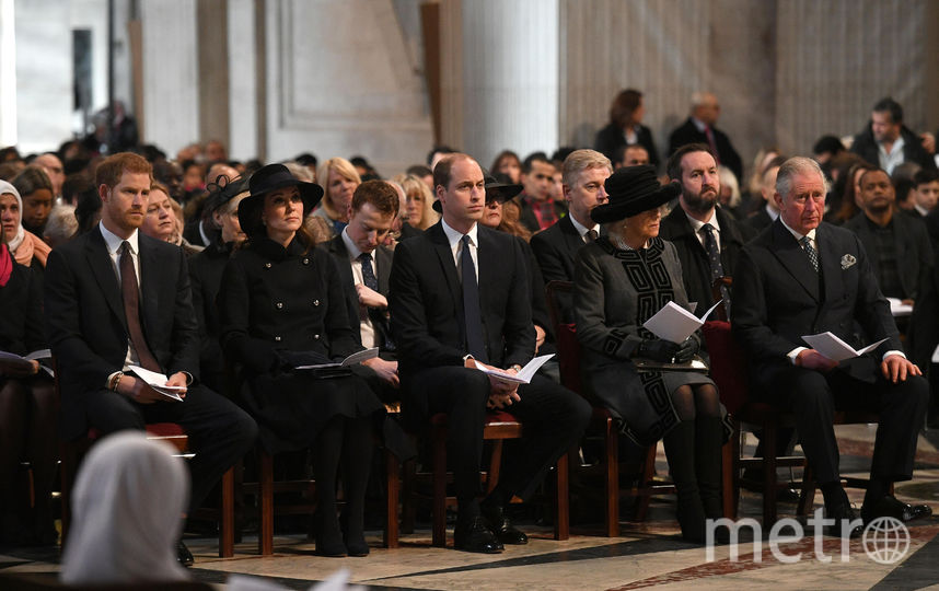 Траурная служба в соборе Святого Павла. Фото Getty