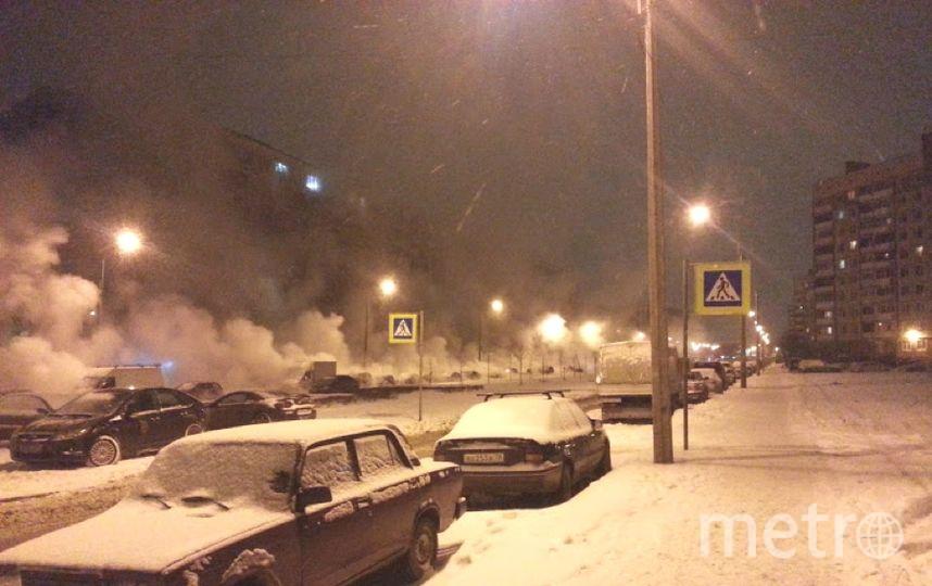 МЧС Петербурга обещало вконце рабочей недели снег сдождем