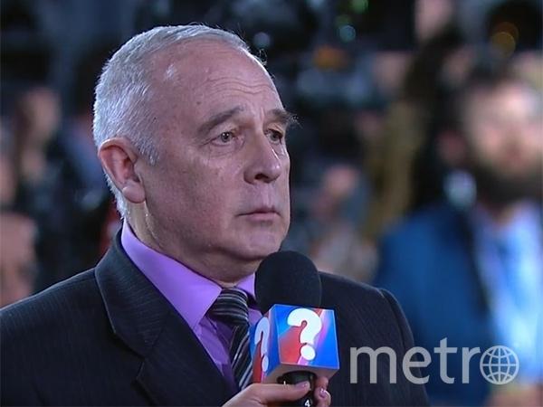 Михаил Зуб на пресс-конференции Путина в 2017 году.