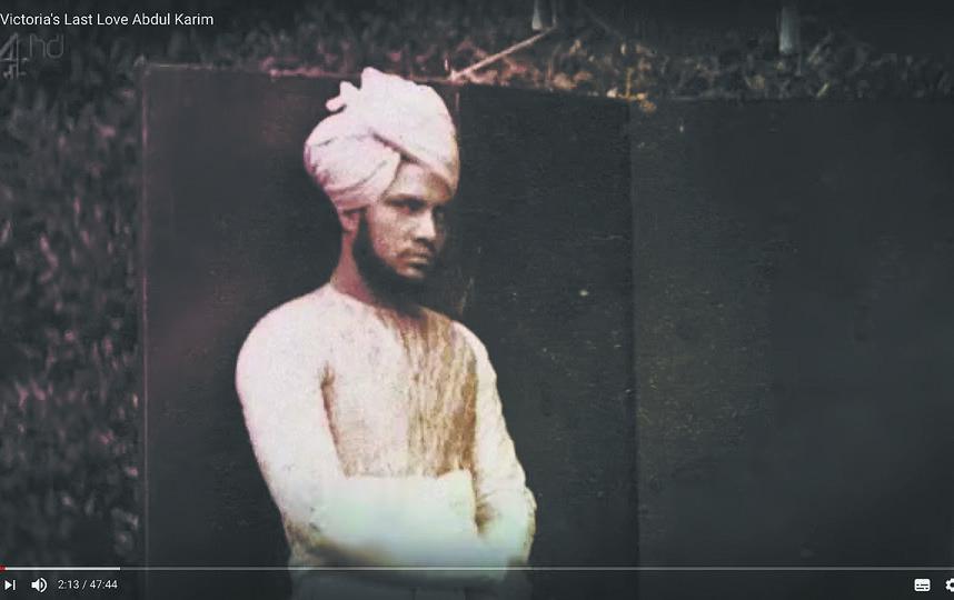 Так выглядел Абдул, когда приехал в Англию в 24 года. Фото Скриншот документального фильма Channel 4, Скриншот Youtube