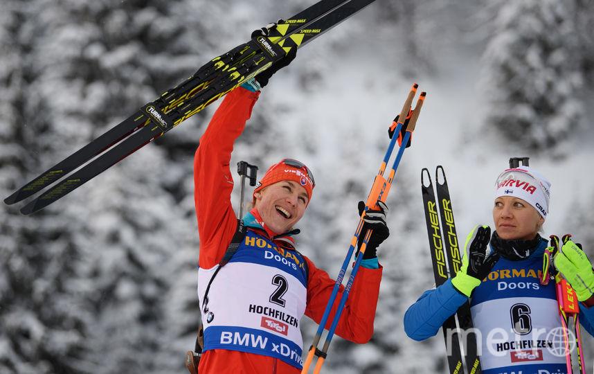 Словацкая биатлонистка Анастасия Кузьмина. Фото Getty