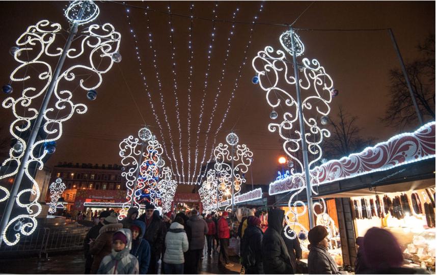 """Главная Рождественская ярмарка на Пионерской откроется 23 декабря. Фото """"Metro"""""""