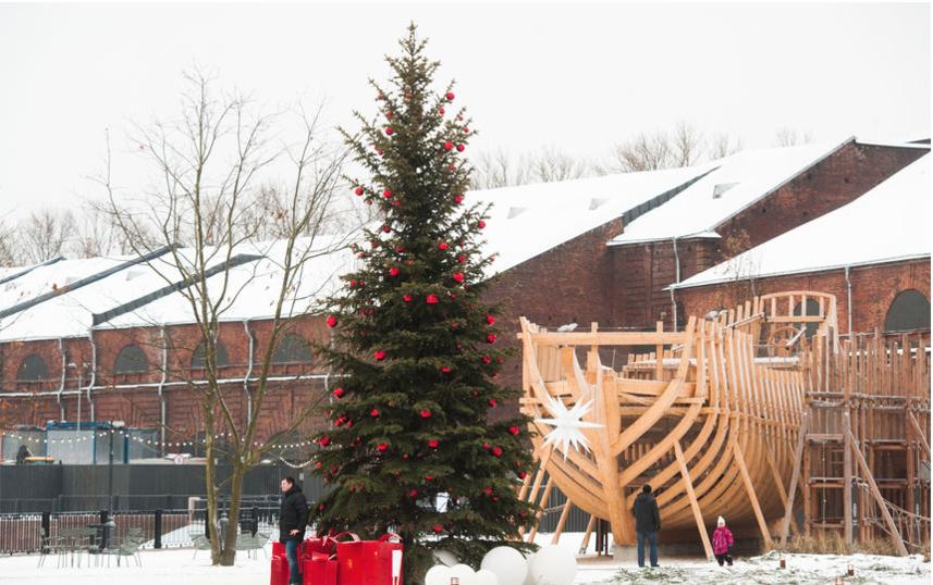 """Рождественская ярмарка в Новой Голландии откроется 23 декабря. Фото """"Metro"""""""